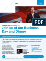 Business Day - Agenda