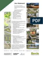 DAVIS Landscape Architecture Practice Statement 15
