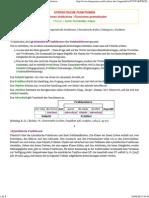 Syntaktische Funktionen Funciones Sintácticas
