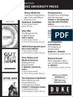 Duke University Press program ad for the Society for Social Studies of Science conference 2015