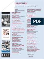 Duke University Press program ad for the National Women's Studies Association conference 2015
