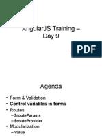 AngularJS Training GÇôDay9