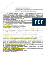 Edital PGM Salvador