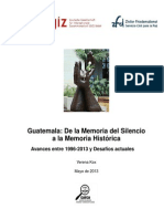 Zfd Guatemala de La Memoria Del Silencio La Memoria Historica 2362