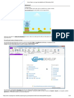 Como Fazer Um Jogo de Plataforma com GDevelop