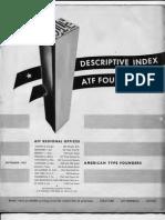 ATF Descriptive Index 1953.9