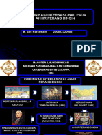 Presentasi Komunikasi Internasional Perang Dingin Eric
