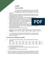 Fall 2007 Statistics