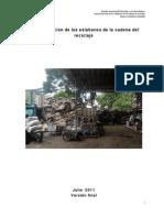 3. Caracterización de Los Eslabones de La Cadena Del Reciclaje Agosto 1 de 2011