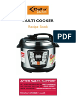 Multi Cooker Recipe Book
