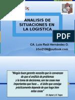 Análisis de Situaciones Logisticas