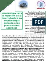 Incertidumbre en mediciones microbiológicas
