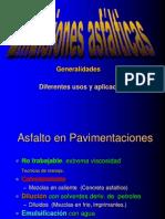 Emulsiones Asfalticas