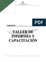 Taller de Informes y Capacitacion
