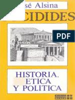 Alsina Jose Tucidides Historia Etica y Politica