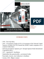 Delhi Metro PPT Final