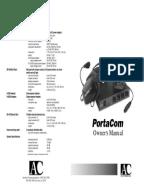 clear com rs 601 manual