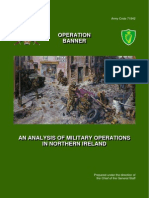 88402801 Operation Banner an Analysis of Military Operations in Northern Ireland