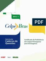 CELPE BRAS 2015-1