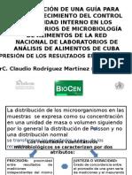 EXPRESIÓN DE RESULTADOS DE INCERTIDUMBRE EN MICROBIOLOGÍA