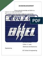 Bhel Report in haridwar