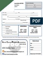 NCRA Membership Form 15-16