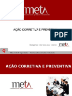 Ação Corretiva e Preventiva