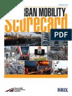 2015 Urban Mobility Scorecard Final