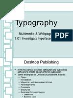 1 01 typography