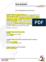 Declaracion Compromiso Ufps 2012
