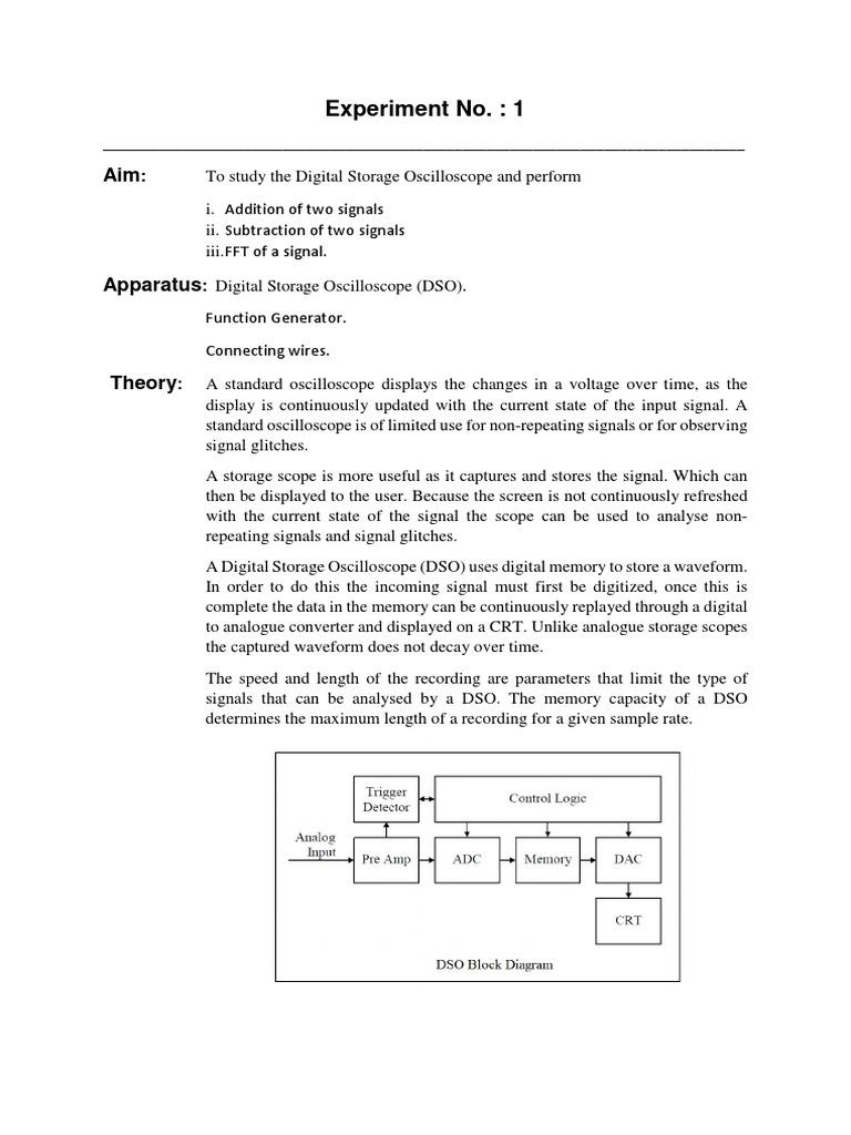 1 Journal Dso Analog To Digital Converter Signal Electrical Block Diagram Engineering