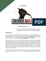 Córdoba Mata 2015