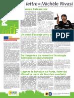 Pollen 3 - Lettre d'information de Michèle RIVASI