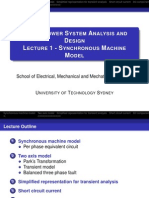 PSAD Slides Lec1 Synchronous Machine Model