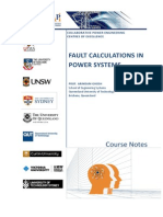 PSAD Notes Lec2-3 Fault Calculations
