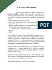 Dc Power Flow Equations