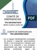 Comite de Emergencias