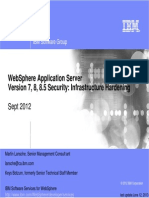 WebSphere Application Server 8.5 Security Hardening