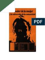 Dalla Costa Maria Rosa - El Poder de La Mujer y La Subversion de La Comunidad
