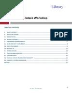 Zotero User Guide