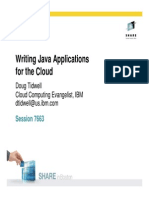 Writing Java Applications for the Cloud