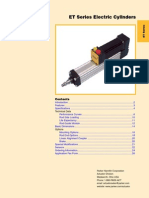 Et Series Electrocylinder Datasheet