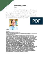 Biografía de David Escobar