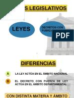 Decretos y Decreto-Ley