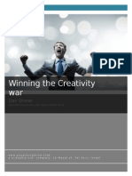 Winning the Creativity War