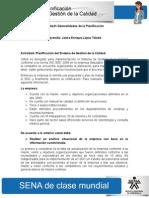 Actividad de Aprendizaje Unidad 1 Generalidades de La Planificacion Jaime Lopez
