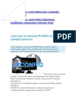 Como Usar El Comando Ipconfig