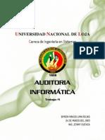 Similitud y diferencias de Auditoria  y auditoria informática