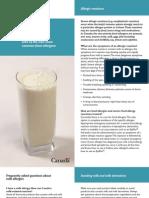 Milk Allergy CFIA