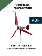 Manual de Proprietario Gerador Eolico Importante